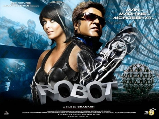 Enthiran The Robot Welcome To Tamil S Sci Fi Cinema Dan At The