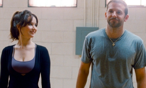 JENNIFER LAWRENCE and BRADLEY COOPER star in SILVER LININGS PLAYBOOK