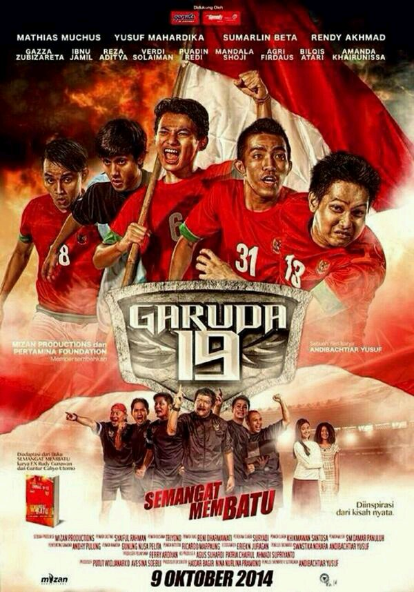 GARUDA 19 : AN INSPIRATIONAL STORY OF INDONESIA NATIONAL U