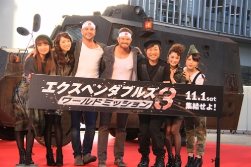 TIFF Expendables 3