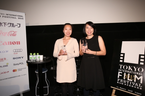 TIFF Asian Future Award producer Zhao Yanming & Pimpaka Towira